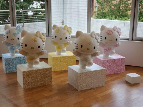 キティちゃんがかわいい、Mr Doodle「DOODLE TOKYO」で作品を見てきました