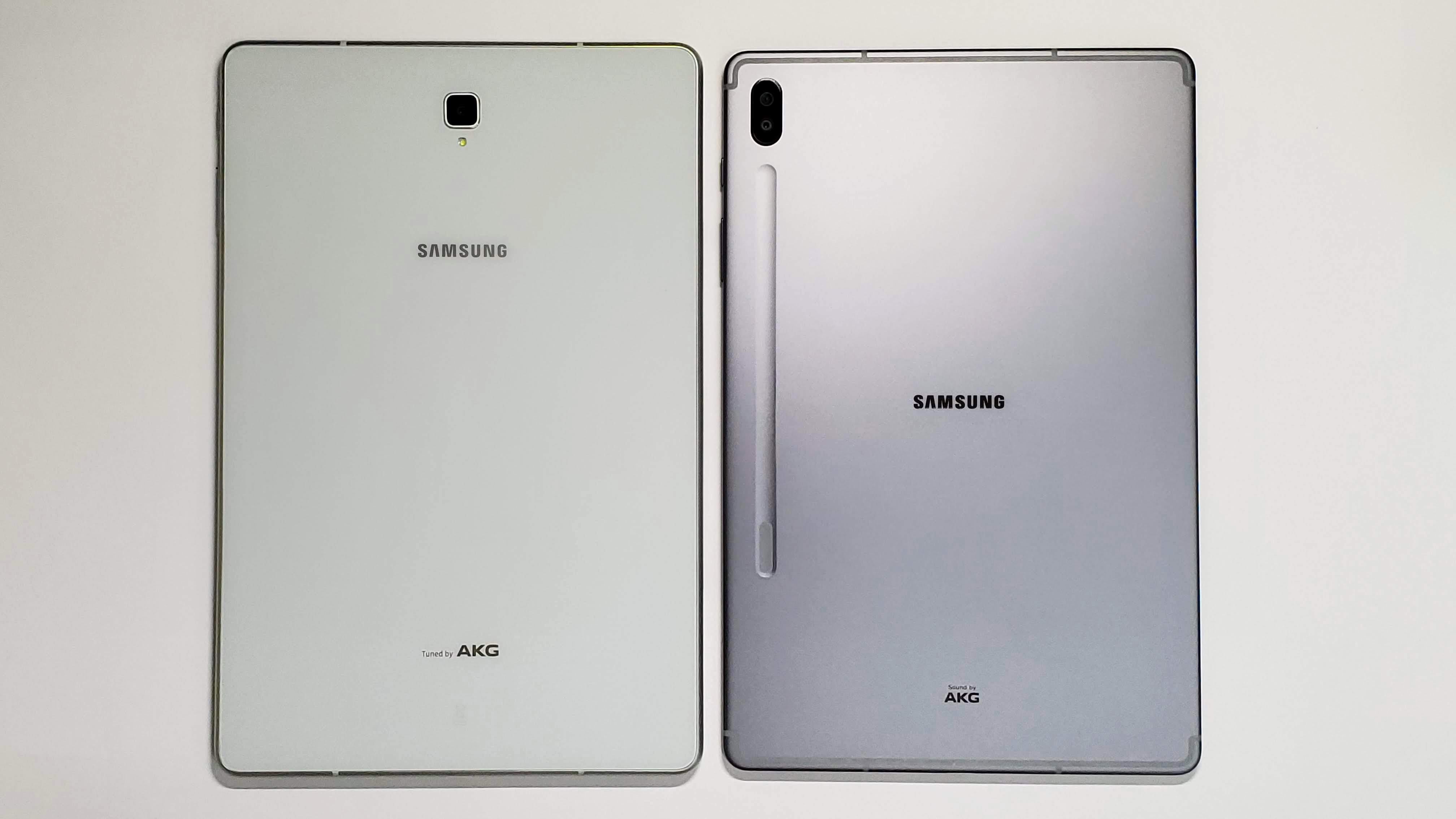 Samsung Galaxy Tab S6-前モデル Galaxy Tab S4 / iPad Air 3 (2019) と比較