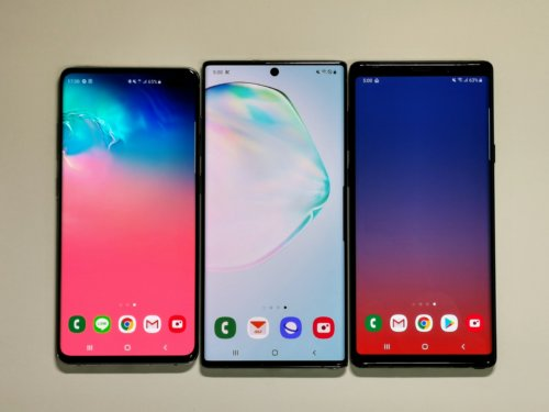 Galaxy Note10+(SC-01M / SCV45)を早速購入して旧モデルと比較-Galaxy Note10+/S10+/Note9