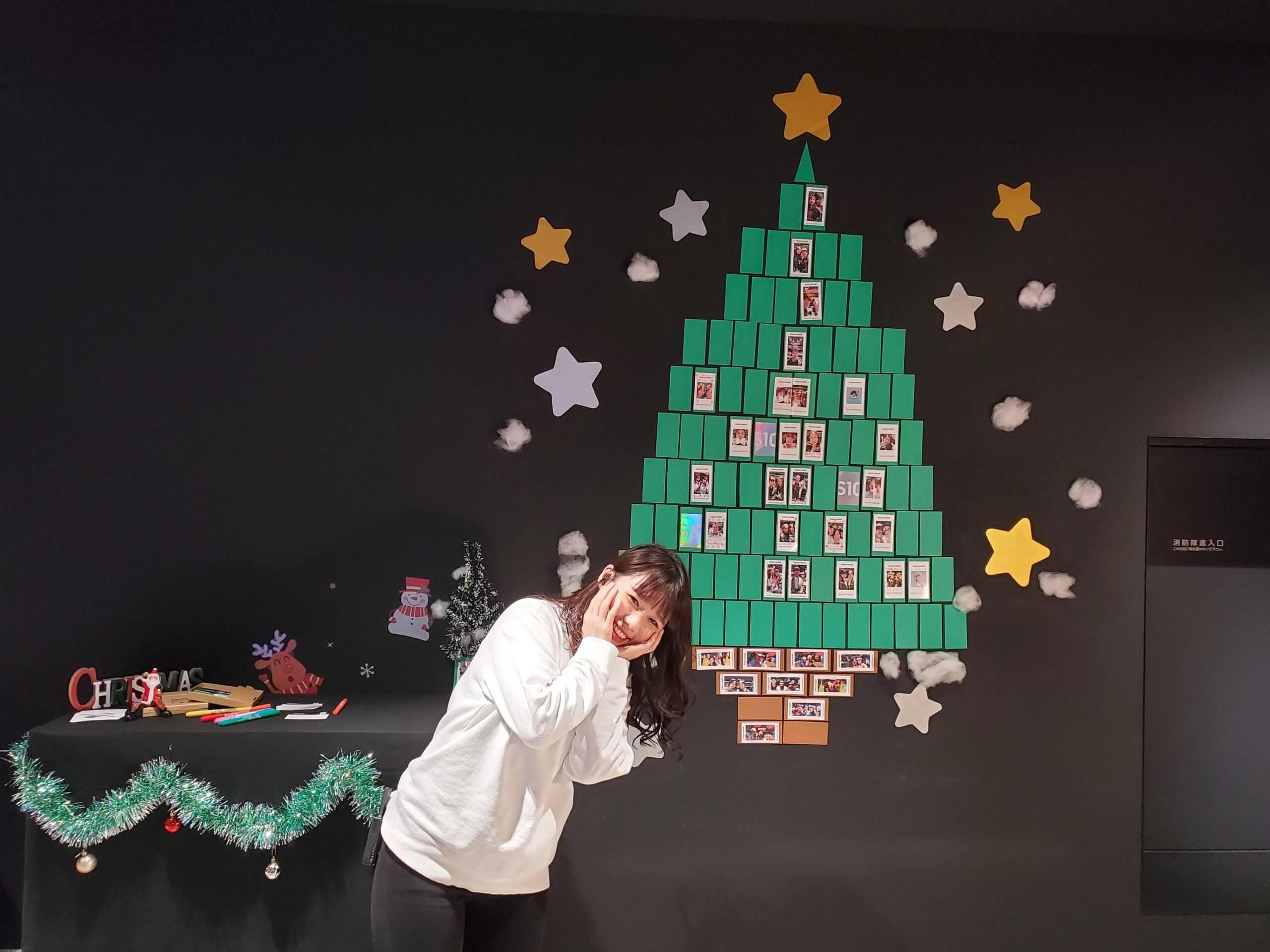 Galaxy Harajukuでクリスマスキャンペーン・イベントが開催┃イルミネーションも楽しめる、原宿で過ごすクリスマス
