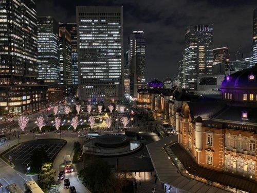 【写真比較】夜景・イルミネーションをスマホ11機種で撮り比べ┃東京駅編 part2