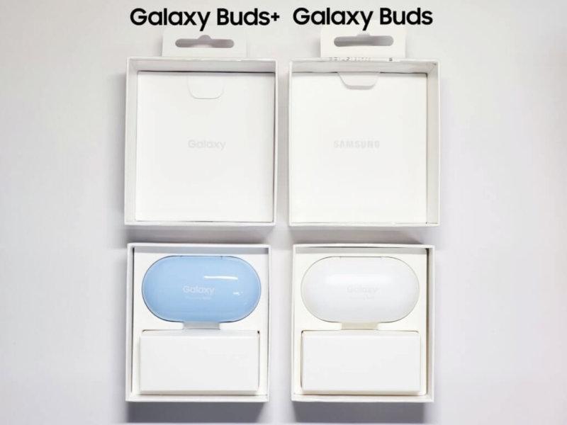 Galaxy Buds+ 内容物