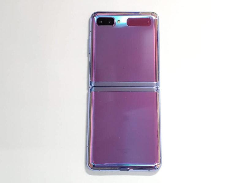 Galaxy Z Flip 背面