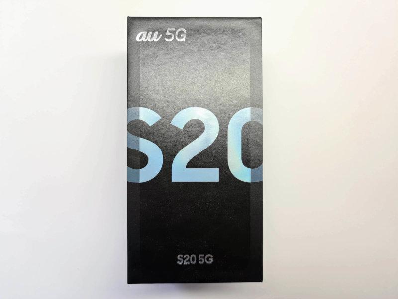 Galaxy S20 5G 外箱