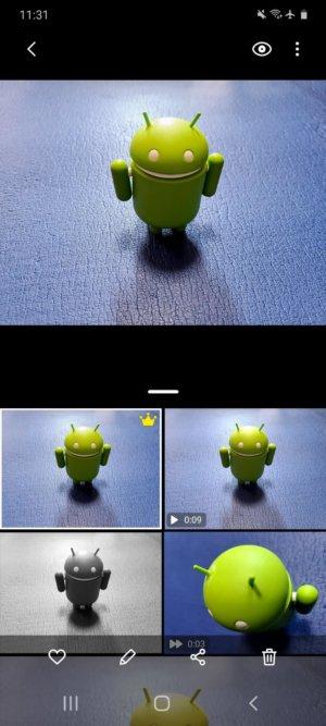 Galaxy S20 5G カメラ「シングルテイクモード」を使って撮影した作例