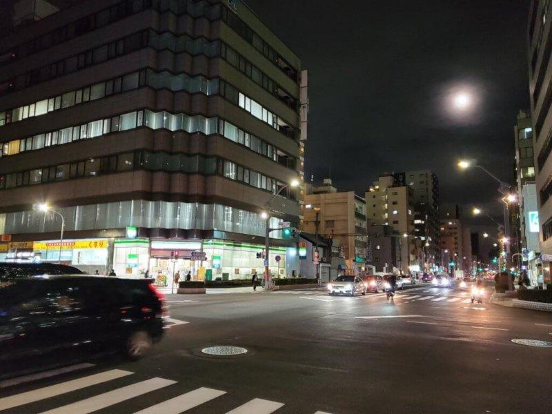 Galaxy Note10+ 写真 夜景