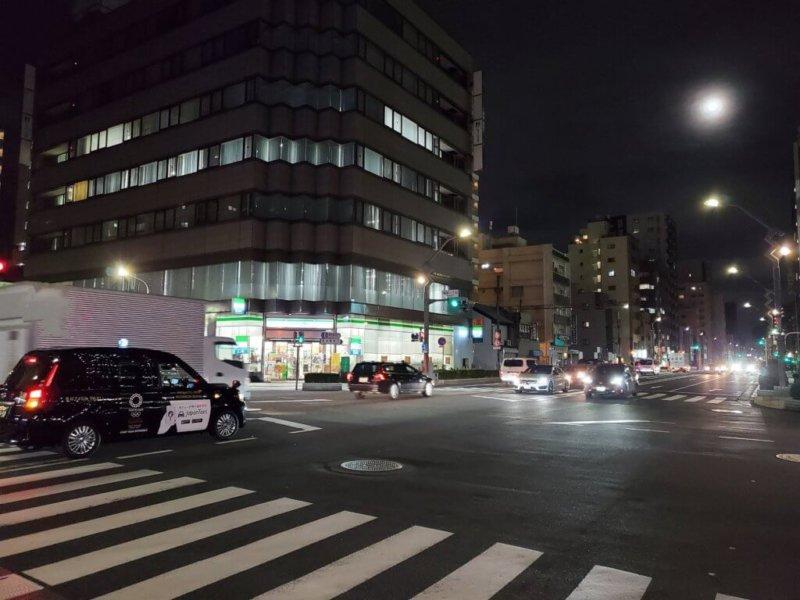 Galaxy Z Flip 写真 夜景
