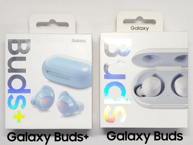 Galaxy Buds+の外箱