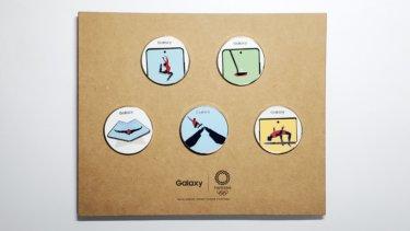 Samsung(Galaxy) ノベコレ(ノベルティーグッズコレクション)|Galaxy Harajukuで貰える景品