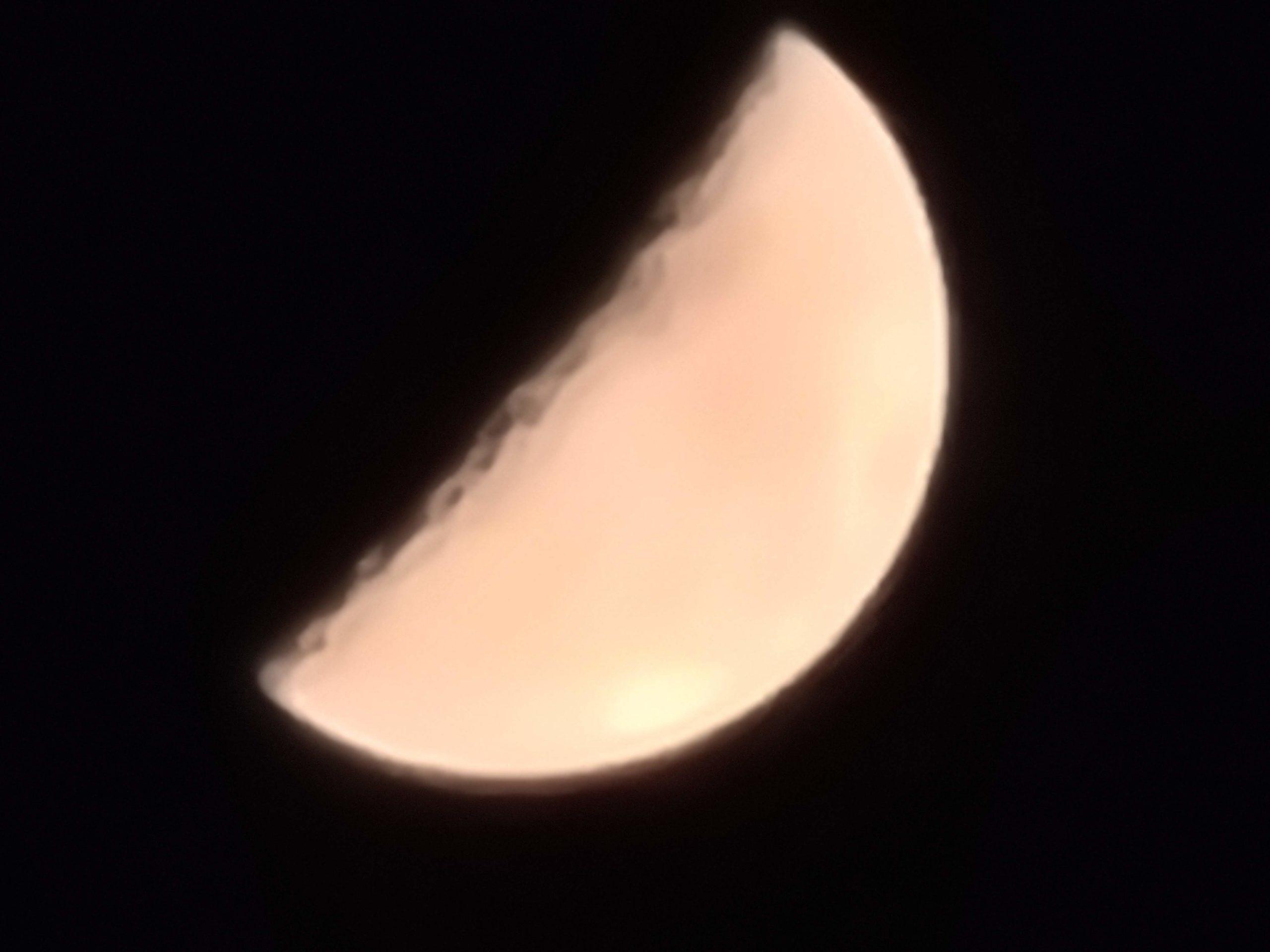 Galaxy S20 Ultra 作例 月