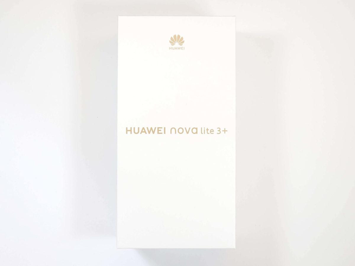 HUAWEI nova lite 3+ 外箱