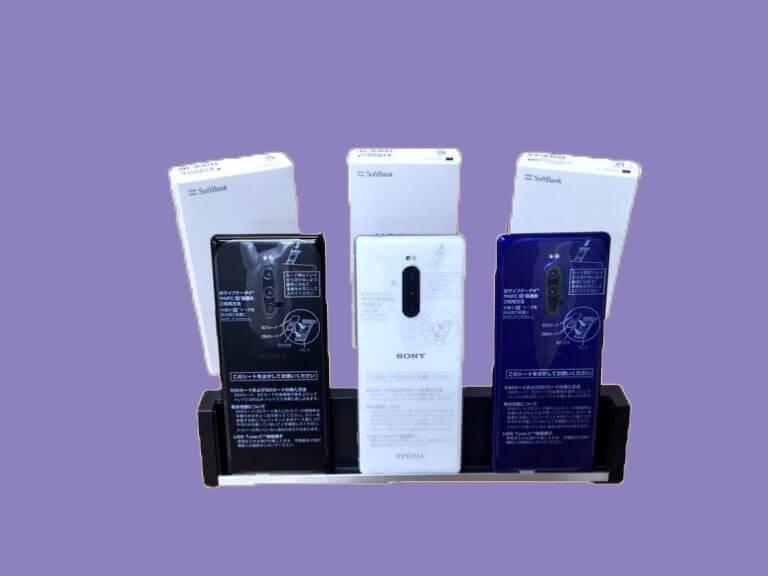 SONYの大人気スマホ「Xperia 1」がSIMロック解除済みで49,800円!!