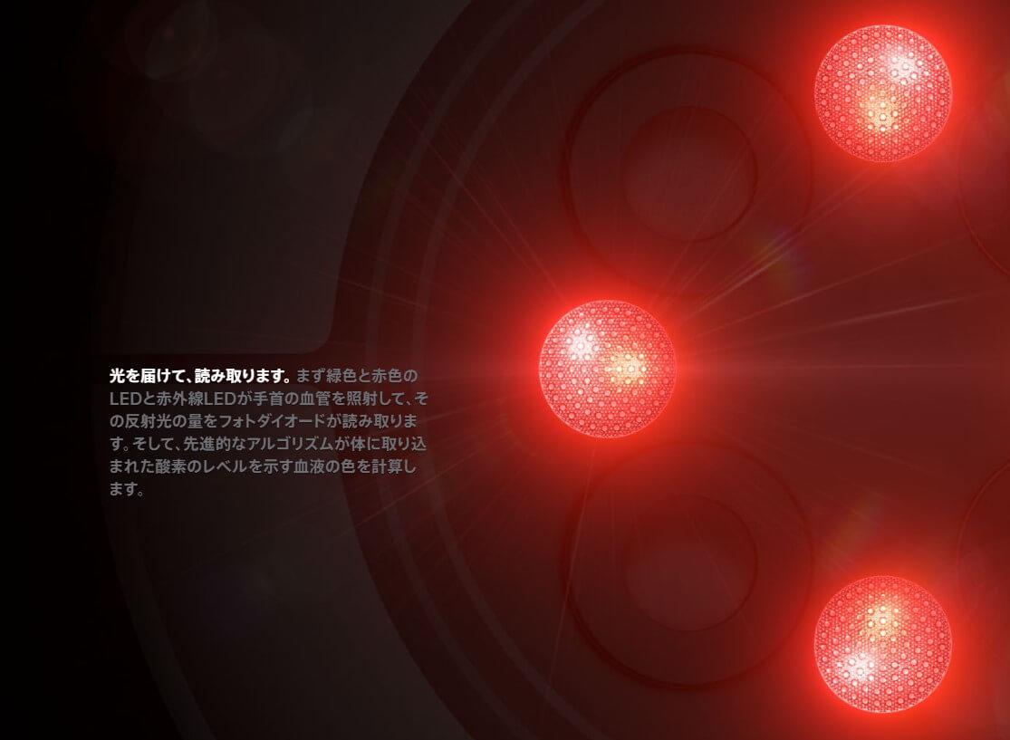 Apple Watch Series 6 血中酸素濃度センサー