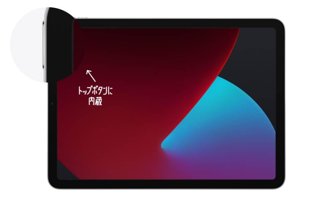 iPad Air ボタン一体型 Touch ID