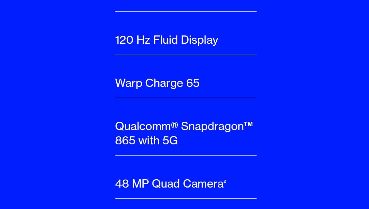 OnePlus 8T と