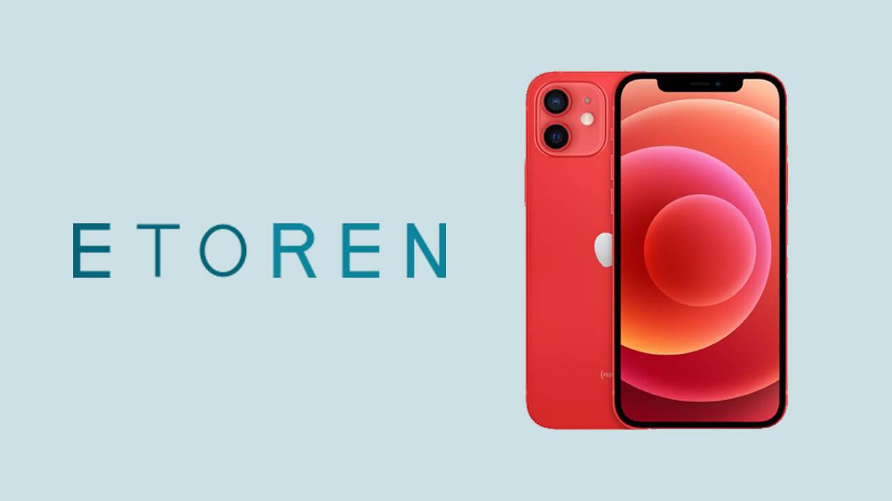 ETOREN iPhone12 セール