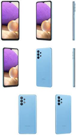 Galaxy A32 5G Awesome Blue